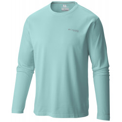 See PFG Zero Rules LS Shirt M in Gulf Stream