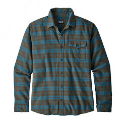 See Fjord Flannel Shirt LW Ms in HESE brown