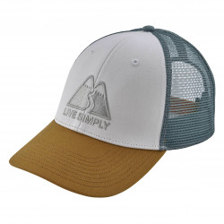 See Live Simply Winding LoPro Trucker Hat in WHI White