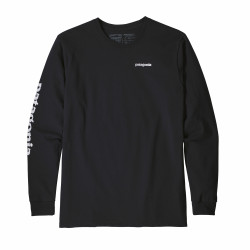 See Text Logo Responsibili-Tee in BLK Black