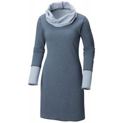 See Winter Dream Reversible Dress in Black Heather