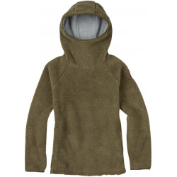 See Lynx Fleece Pullover Hoodie Wm in HICKORY