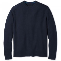 See Sparwood Crew Sweater M in Deep Navy Heath
