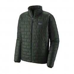 See M's Nano Puff Jkt in Carbon w/Carbon