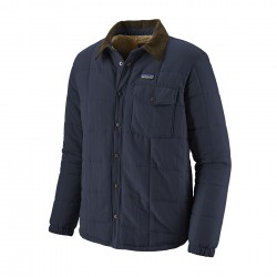 See M's Isthmus Quilted Shirt Jkt in New Navy