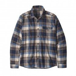 See M's LW Fjord Flannel Shirt in Buttes: New Navy