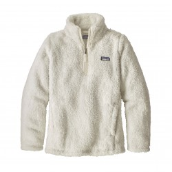 See Girls' Los Gatos 1/4 Zip in Birch White