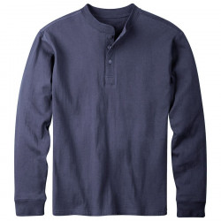 See Trapper Henley Shirt Ms in Navy