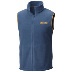 See Harborside Fleece Vest Ms in Blue Heron, Dar