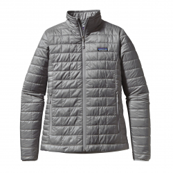 See Nano Puff Jacket Women in Feather Grey