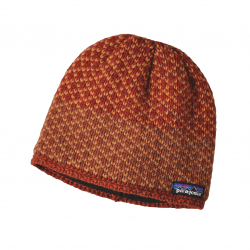 See Beatrice Beanie in Cinder Red