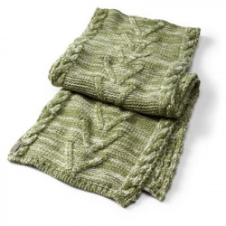 See Marquette Scarf in Green