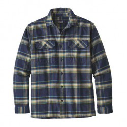 See Fjord Flannel Shirt M in ACNB Blue
