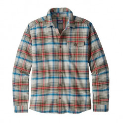 See Fjord Flannel Shirt LW Ms in ROTG grey