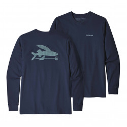 See Flying Fish ResponsibiliTee LS in CNY Blue