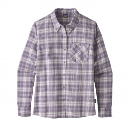 See Heywood Flannel Shirt in HESM violet