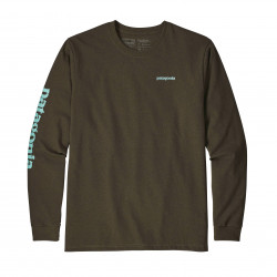 See Text Logo Responsibili-Tee in SEMT Brown