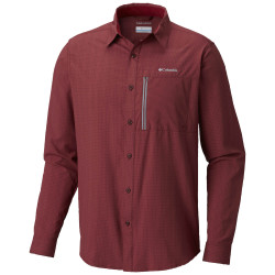 See Cypress Ridge Long Sleeve Shirt in Elderberry