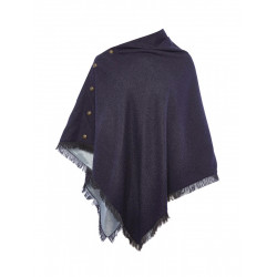 See Hazelwood Poncho W in Navy
