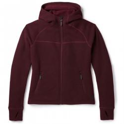 See Hudson Trail Full Zip Fleece Sweater W in Tibetan Red