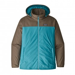 See Light & Variable Jkt Mn in Mako Blue