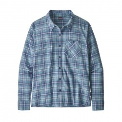 See W's Heywood Flannel Shirt in Sprout: Woolly Blue