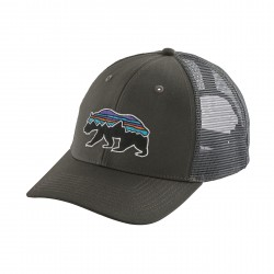 See Fitz Roy Bear Trucker Hat in Forge Grey