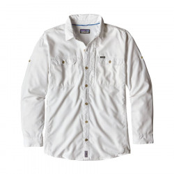 See L/S Sol Patrol II Shirt M in White