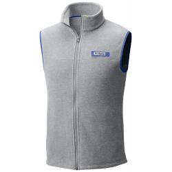 See Harborside Fleece Vest Ms in Cool Grey Heath