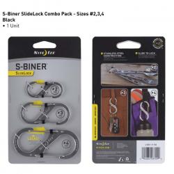 S-Biner SlideLock 3pk Image