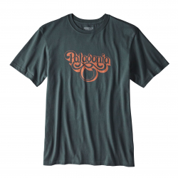 Groovy Type Cotton T-Shirt Image