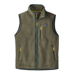 See Retro Pile Vest Ms in IndustrialGreen