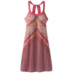See Cantine dress in Cranberry Marrakesh