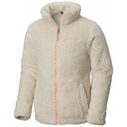 See Fluffy Fleece Full Zip G in Chalk, Tiki Pin