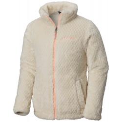 See Fluffy Fleece Full Zip G in Chalk, Tiki Pin