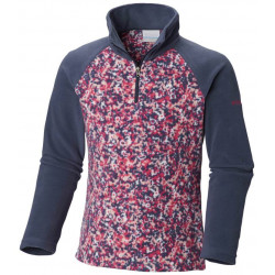 See Glacial II Fleece Print Half Zip in Nocturnal Flora