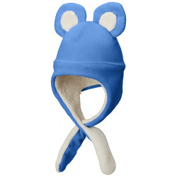 See Tiny Bear II Beanie Infant in Super Blue
