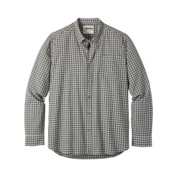 See Spalding Gingham Shirt M in Smoke