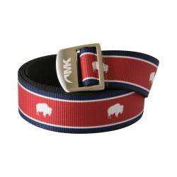 See Tatanka Webbing Belt in Red