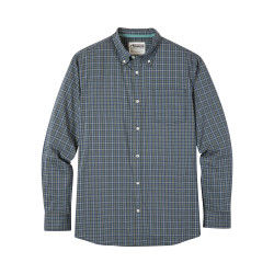 See Uptown Tattersall Shirt Ms in Viridian