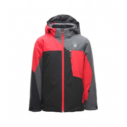 See Ambush Jacket Boys in Black Red Polar