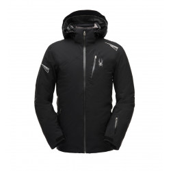 See Leader Jacket Mn in Black Black Black