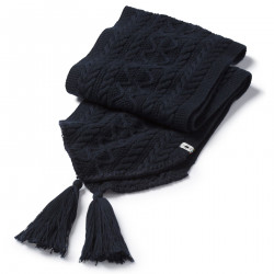See Bunny Slope Scarf in Deep Navy Heath
