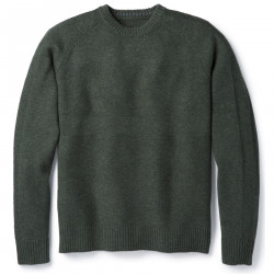 See Ripple Ridge Crew Sweater M in Scarab Heather