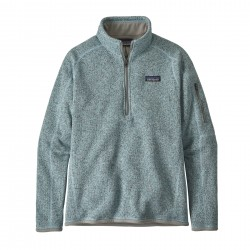 See W's Better Sweater 1/4 Zip in Hawthorne Blue