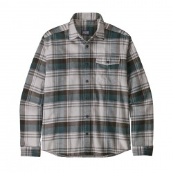 See M's LW Fjord Flannel Shirt in Buttes: Tailored Grey