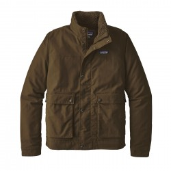 See M's Maple Grove Canvas Jkt in Logwood Brown