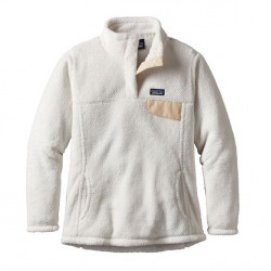 See Girls' Re-Tool Snap-T P/O in Raw Linen - White X-Dye
