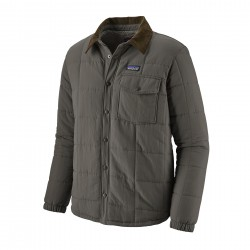 See M's Isthmus Quilted Shirt Jkt in Forge Grey