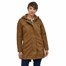 See W's Insulated Prairie Dawn Parka in Owl Brown